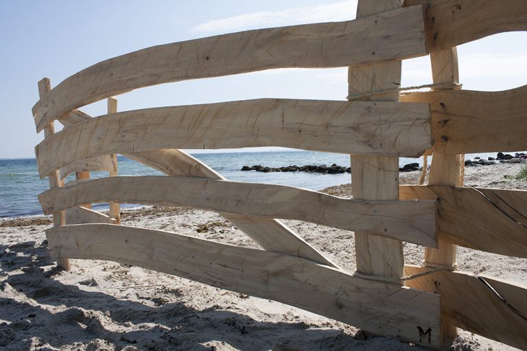 North Sea Drift Wood Fence